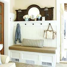 entryway storage bench coat racks and rack corner hall tree good design nice with shoe entry plans