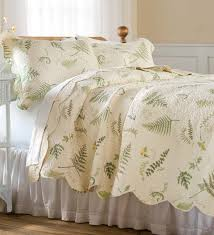 king tranquil fern quilt set