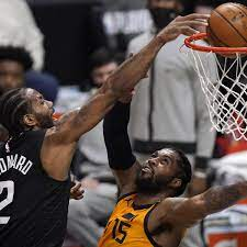 Breathtaking Kawhi Leonard dunk helps Clippers tie playoff series with Jazz    NBA