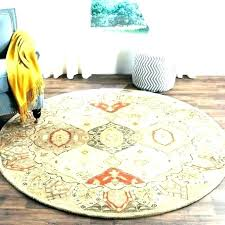 6 foot round rug pad 7 ft 5 rugs area feet special grid for hard floor round rug 6 foot