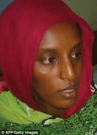 Unchained: Meriam Ibrahim, the mother-of-two facing the death sentence in Sudan for becoming a Christian, was released from ... - article-2661374-1E9D4FA000000578-346_306x423