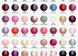 Gelish Nail Polish Colours Tepaksirehblog Com