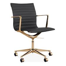 office credenza black and gold desk chair creative chair decoration with gold computer chair