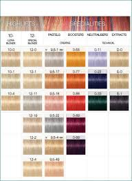 Age Beautiful Hair Color Chart Age Beautiful Color Swatches My Behavior Color Chart Pdf
