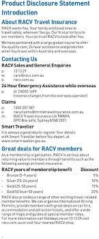 racv travel insurance quote 44billionlater