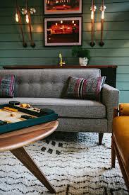 contemporary living room gray sofa set. Contemporary Living Room Gray Sofa Set. Gathering With Retro Set