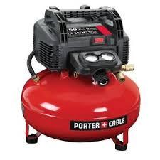 Porter-Cable 6 Gal. 150 PSI Portable <b>Electric</b> Pancake <b>Air</b> Compressor