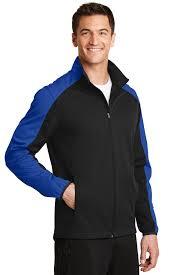 Crossland Soft Shell Jacket Size Chart Port Authority Active Colorblock Soft Shell Jacket
