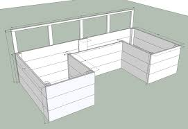 raised garden planning easy to build bed plans sedl