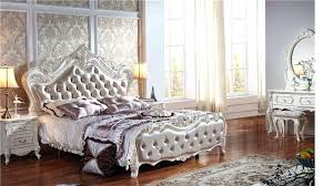 wood and leather bed marvelous headboard