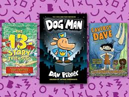 dav pilkey beloved author of the captain underpants series has also delighted readers with the adventures of its part canine part cop proonist