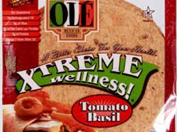 ole mexican xtreme wellness tomato basil tortilla wraps