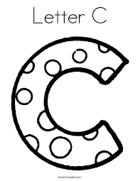 Small Picture Letter C Coloring Pages Twisty Noodle