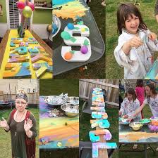 paint party letters for kids