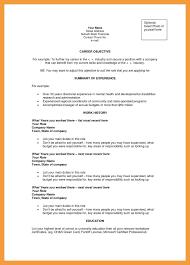 Career Objective Accounting Resume Sample Fishingstudio Com