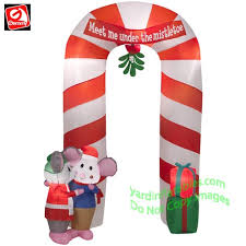 Candy Cane Yard Decorations Christmas Inflatables 94
