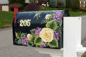 painted mailbox designs. Unique Painted Inside Painted Mailbox Designs