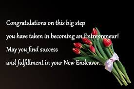 Congratulation For New Business Good Luck Messages For New Business Entrepreneurs Wishesmsg