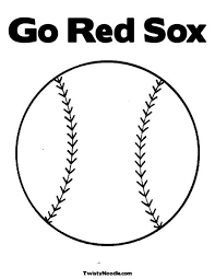 Small Picture Red Sox Coloring Pages South Shore Mamas