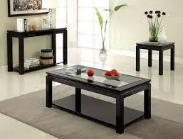 Nice Black Coffee Table Set 137920503