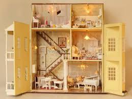 lighting for dollhouses. natural wooden dollhouse your childrenu0027s love them 16 lighting for dollhouses