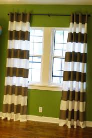 How To Diy Striped Curtains Ivy In The Bay