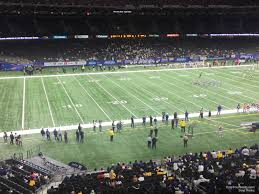 Superdome Seating Chart With Row Numbers Superdome Section 340 New Orleans Saints Rateyourseats Com