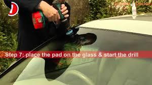 scratch doctor windscreen glass scratch repair instruction you