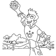 Small Picture Wild Kratts Coloring Pages Free Printable MomJunction