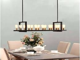 unique rectangular dining chandelier for long rectangular 78 modern rectangular chandeliers dining room