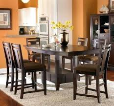 counter height pedestal dining table elegant ii counter height table round