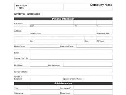 employee sheet template resume template business reference form new employee excel