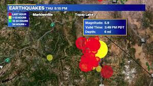 6.0 preliminary magnitude quake ...