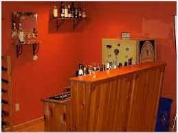 Bar Rustic Basement Bar Ideas - Rustic basement ideas