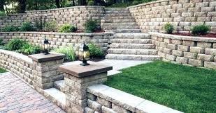 retainer wall ideas retaining wall ideas hill wooden retainer wall ideas