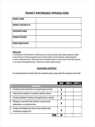 Monthly Appraisal Form 24 Monthly Review Form Sample Free Sample Example Format Download 2