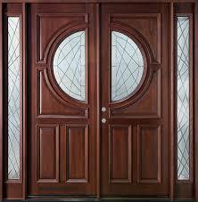 front door doubleFront Door Custom  Double with 2 Sidelites  Solid Wood with Dark