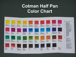 Winsor And Newton Cotman Color Chart Winsor Newton Cotman Half Pan Watercolor Refills Colors A Thru H Choose