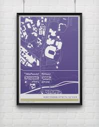 Washington Huskies Stadium Map