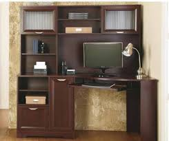 corner office desk hutch. magellan corner desk with hutch office depot 0