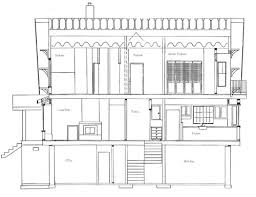 Architectural Drawings Of Houses Chestate River House Plans