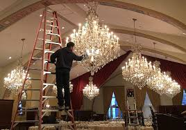 cleaning inside of glass chandelier cleaning multiple chandeliers