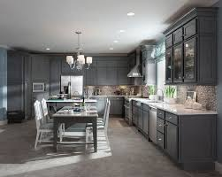 Small Picture Luxury Kitchen Design with Grey Painted Kitchen Maid Cabinet