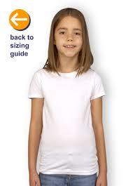 Next Level Kids Size Chart Customink Com Sizing Line Up For Next Level Youth Girls