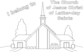 Small Picture Easy to Color lds church coloring pages printable coloring pages