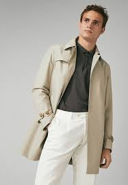 trench trenchcoat beige