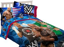 wwe bedding set twin