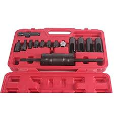 <b>14 Piece Injection</b> Extractor Adaptor Puller Diesel Injector Remover ...