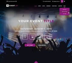 Event Website Template Custom Jf Event Up 48 Joomla Templates