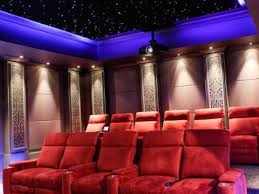 home theater art. starlit home cinema theater art